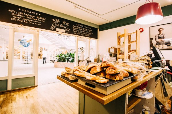 Truro Shop, Cakes and coffee, Baker Toms Bread, Bakery Cafe, Pool, Bread