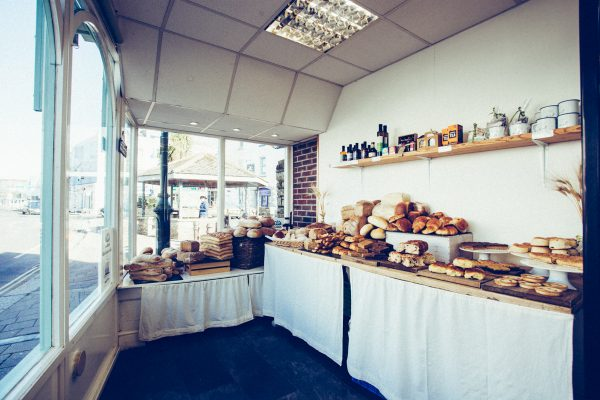 Wadebridge Shop, Cakes and coffee, Baker Toms Bread, Bakery Cafe, Pool, Bread
