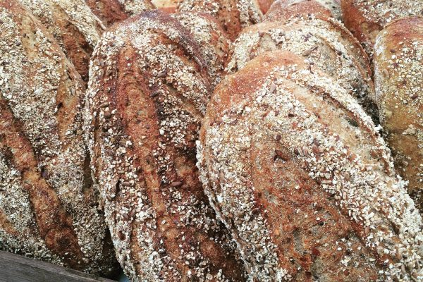 Baker toms, bakery, cornwall, seeded sourdough