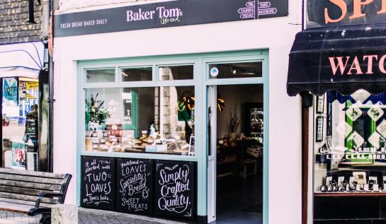 Penzance Shop, Baker tom's Bread,