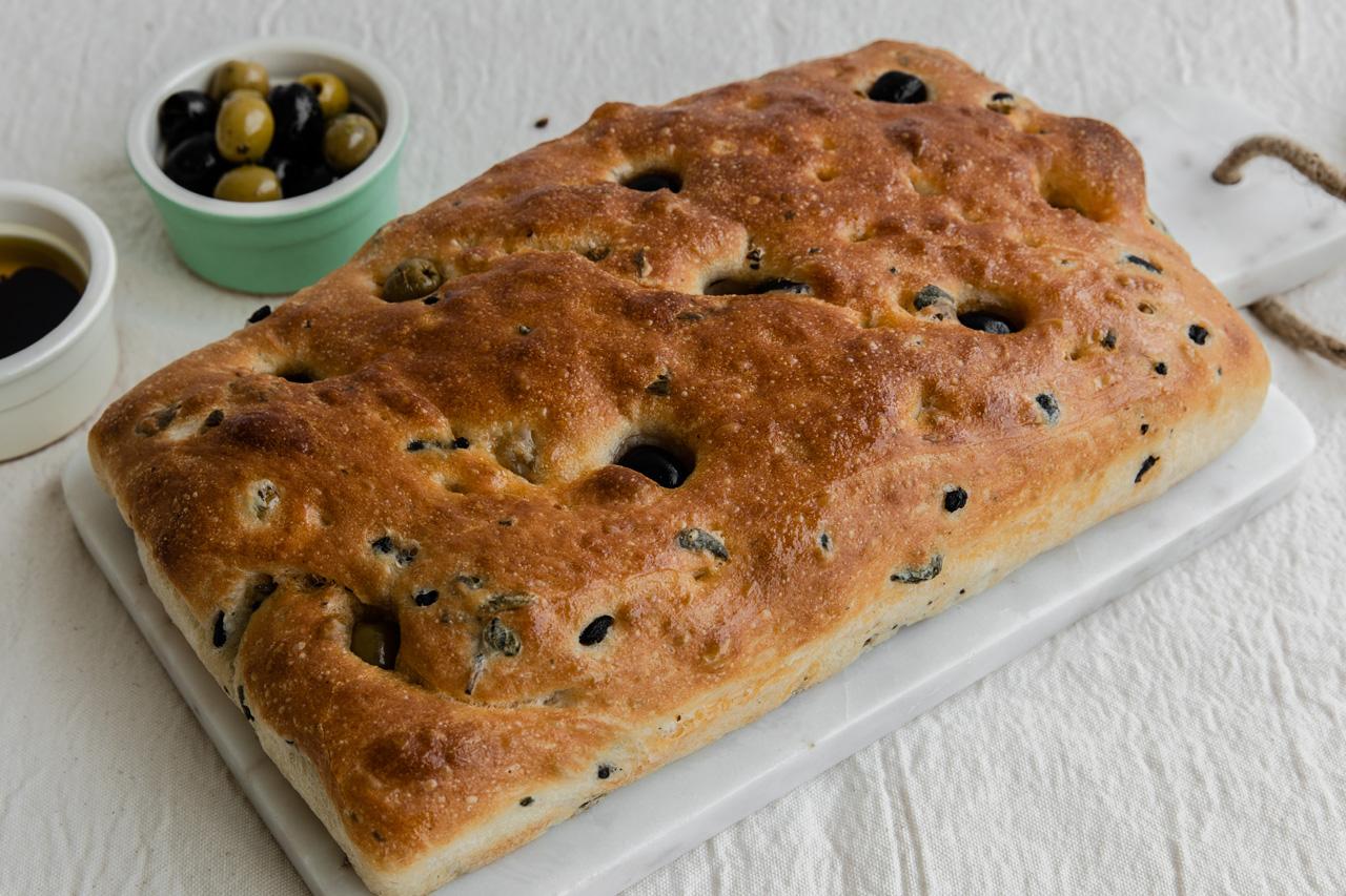 Olive Focaccia