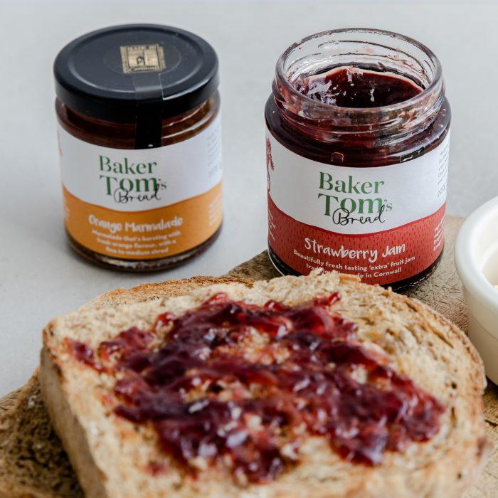 Baker Tom Jam and Marmalade