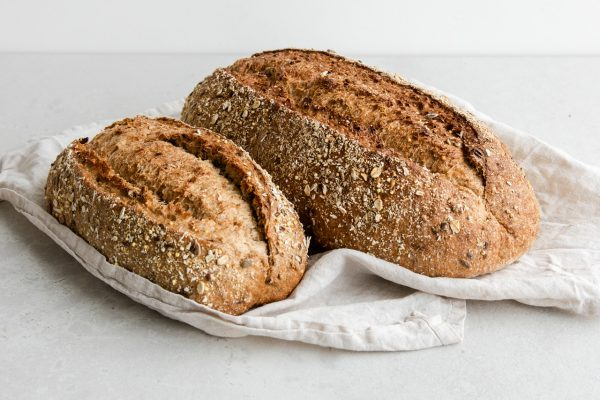 Small and Large Seeded Sourdough